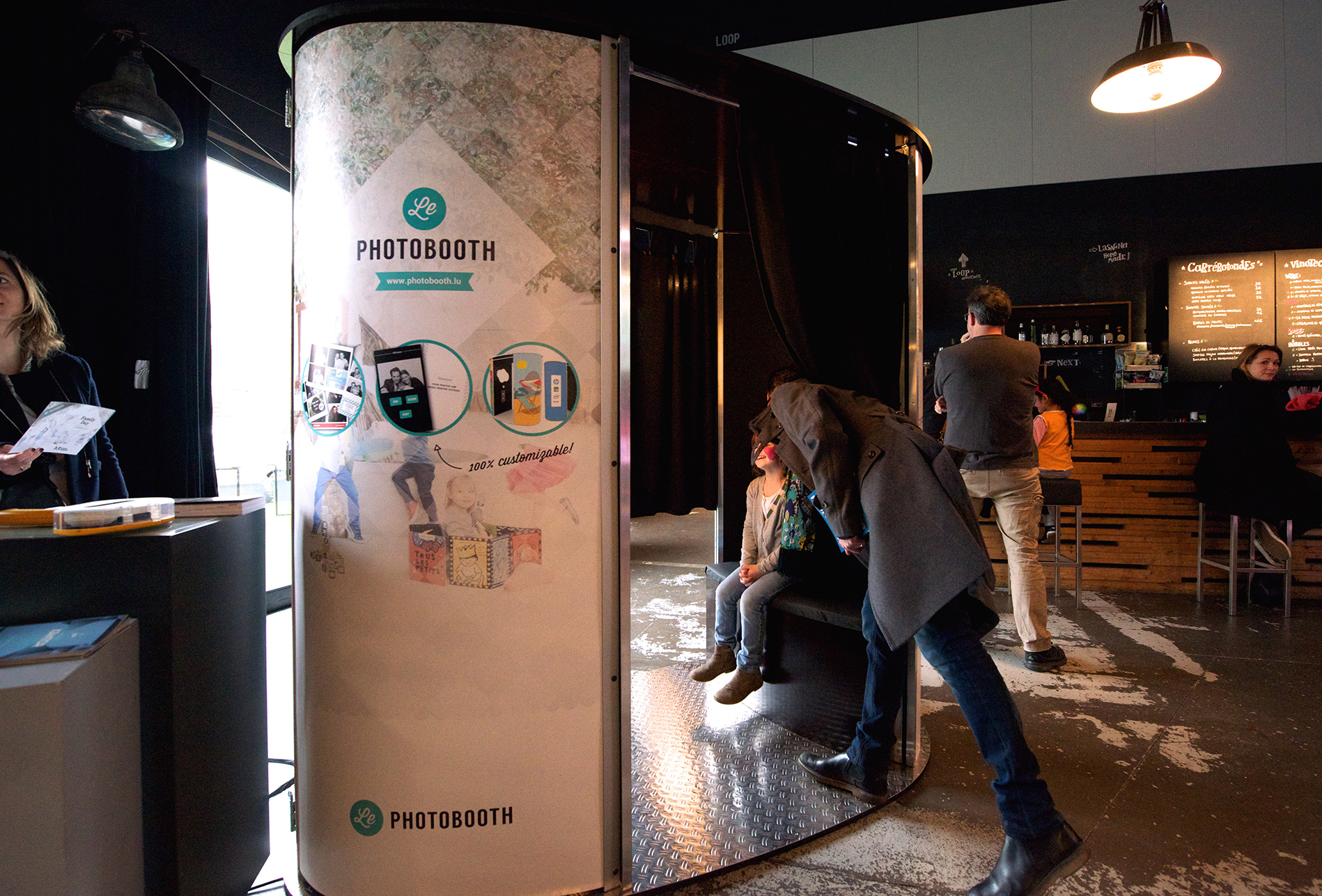 Family Day by Maison Moderne - Le Photobooth Luxembourg